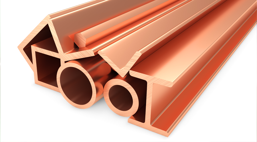 Copper Profile Sections Manufacturers in India